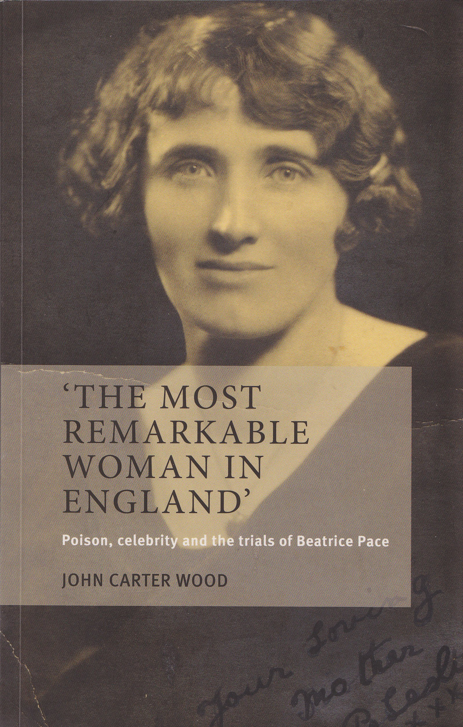Cover of The Most Remarkable Woman in England